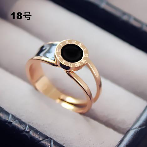 Harga Masuknya Orang Korea Fashion Style Emas Naik Cincin Cincin Other