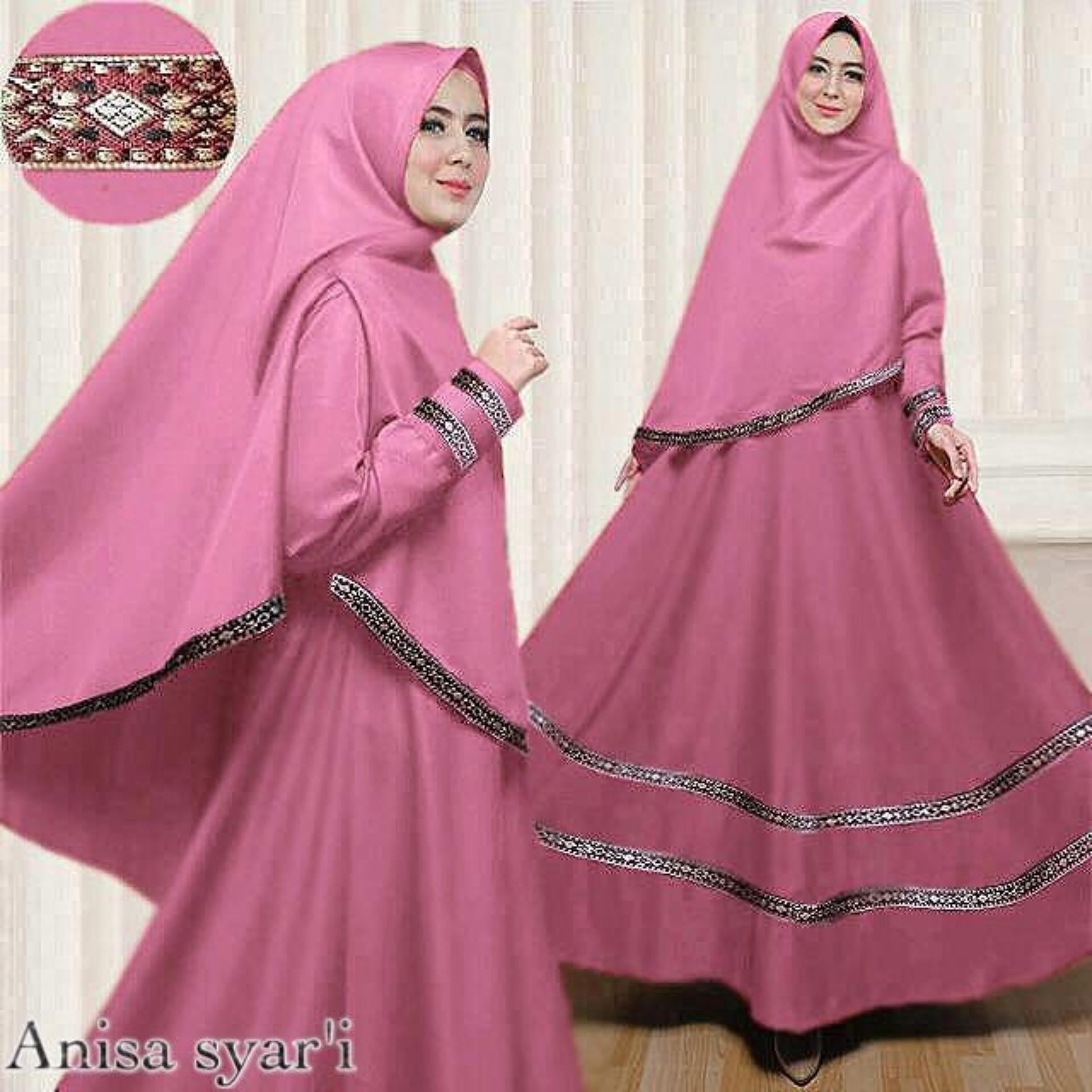 Jual Cipitih Shop Gamis Modern Syar I Wanita Muslimah Syar I Kece Gamis Kekinian Balotelly Anisa Original