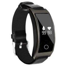 Spesifikasi Ck11S Cerdas Tekanan Darah Darah Oksigen Monitor Dan Denyut Jantung Olah Raga Jam Bluetooth Jam Gelang Smart Untuk Ios Dan Android Intl Yg Baik