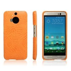 Simple Crocodile Stripe Protection Back Cover For HTC Desire Eye(Orange)