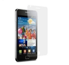 Clear LCD Screen Protector Guard untuk Samsung GALAXY S I9100--Intl