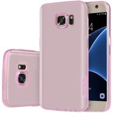Clear Rubber Soft TPU Cover Case untuk Samsung Galaxy S7 PK-Intl
