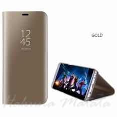 Harga Clear View Standing Smart Case Samsung Galaxy J7 Plus Seken