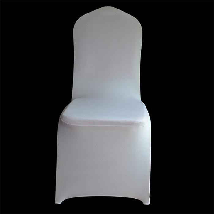 Clearance Price Sunweb Spandex Chair Covers for Wedding Supply Party Banquet Decoration(White) - intl