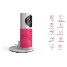Katalog Clever Dog P2P Night Vision Record Video Two Way Audio Motiondetected Wifi Smart Ip Camera Rose Eu Plug Intl Oem Terbaru