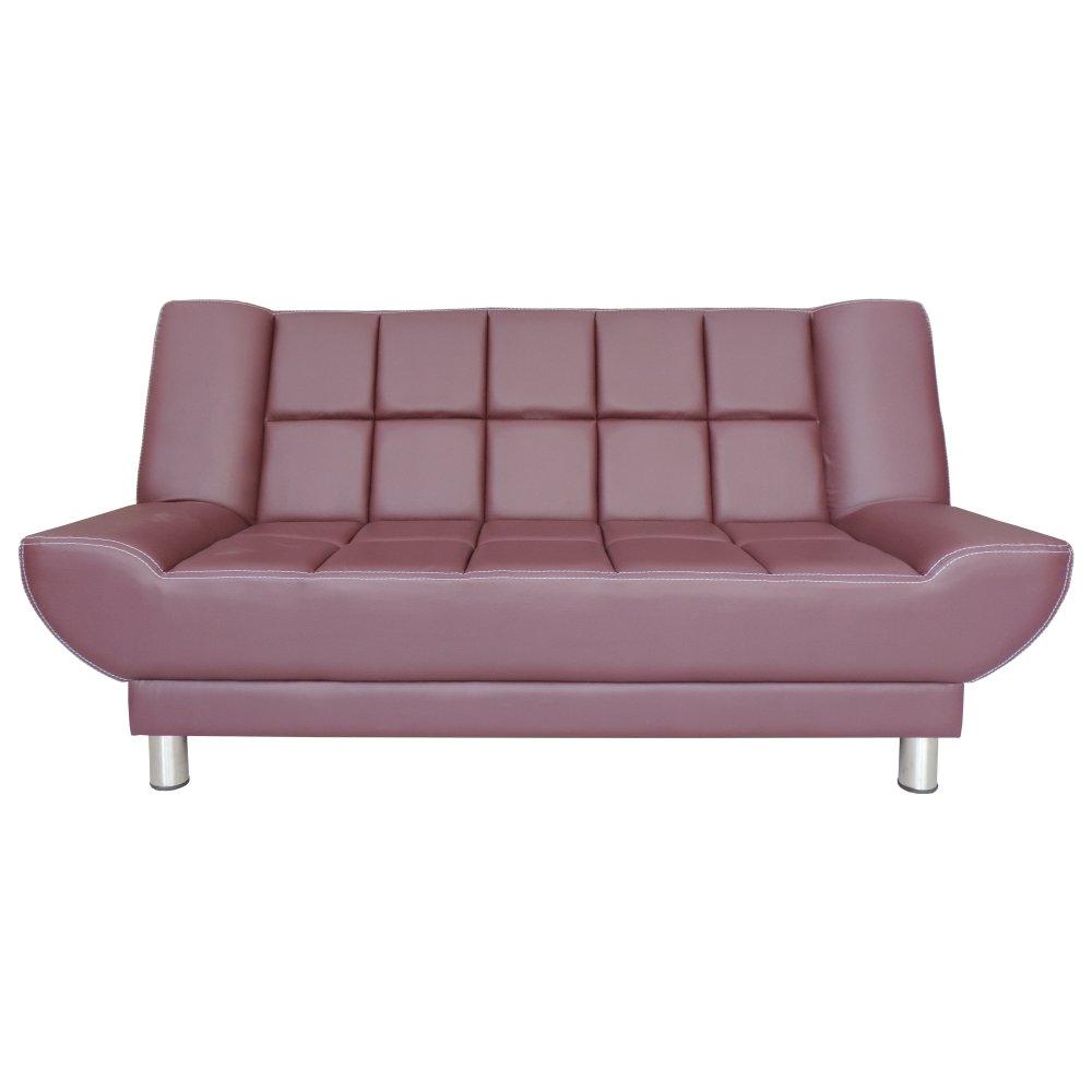 Clianta Sofa Bed Quilted (Wine) - Bandung