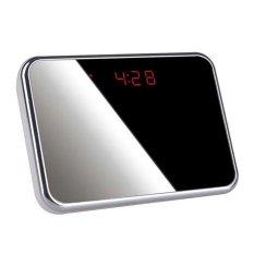 Clock Camera DVR WCH-10C dengan Tidak Terdeteksi Lens + MotionDetect (Hitam) (LUAR NEGERI)-Intl