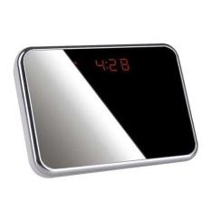 Clock Camera DVR WCH-10C dengan Tidak Terdeteksi Lens + MotionDetect (Hitam) (x2)-Intl