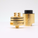 Harga Clone Vgod Pro Drip Style Rda Rebuildable Dripping Atomizer Vape Vapor 24Mm Gold New