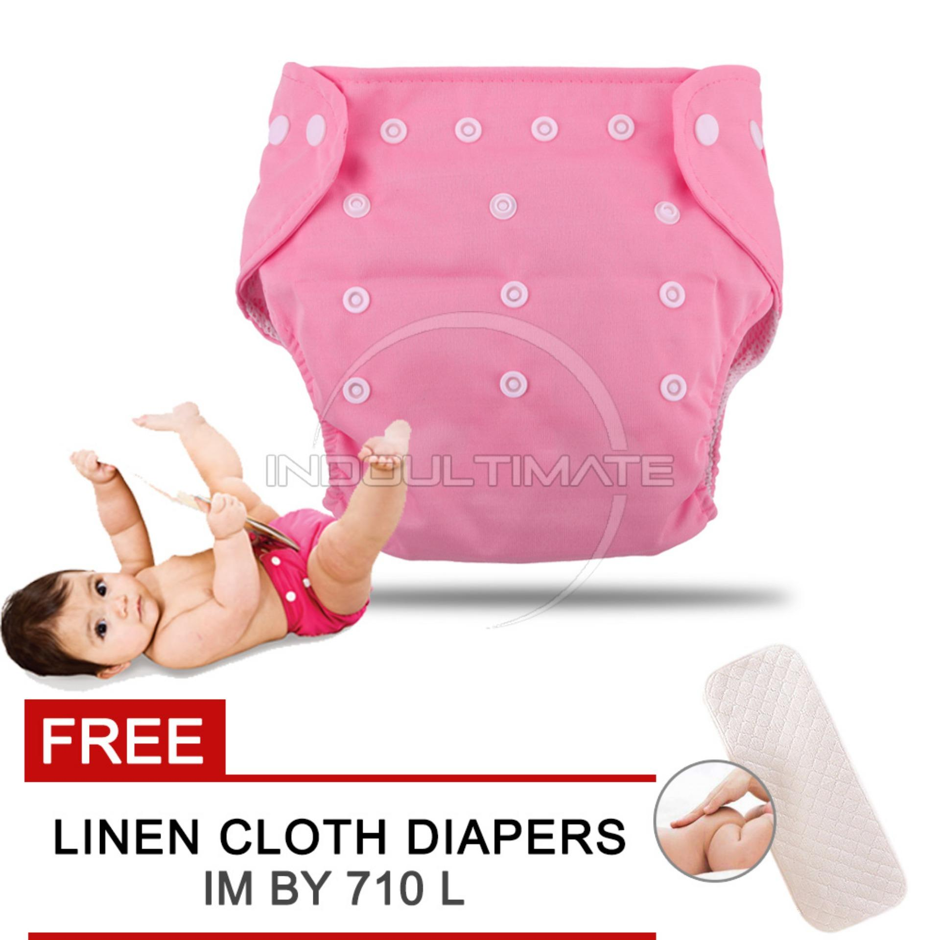 Cloth diaper Cloth diapers Clodi Popok Kain Bayi BY 72 Pampers Kain PINK