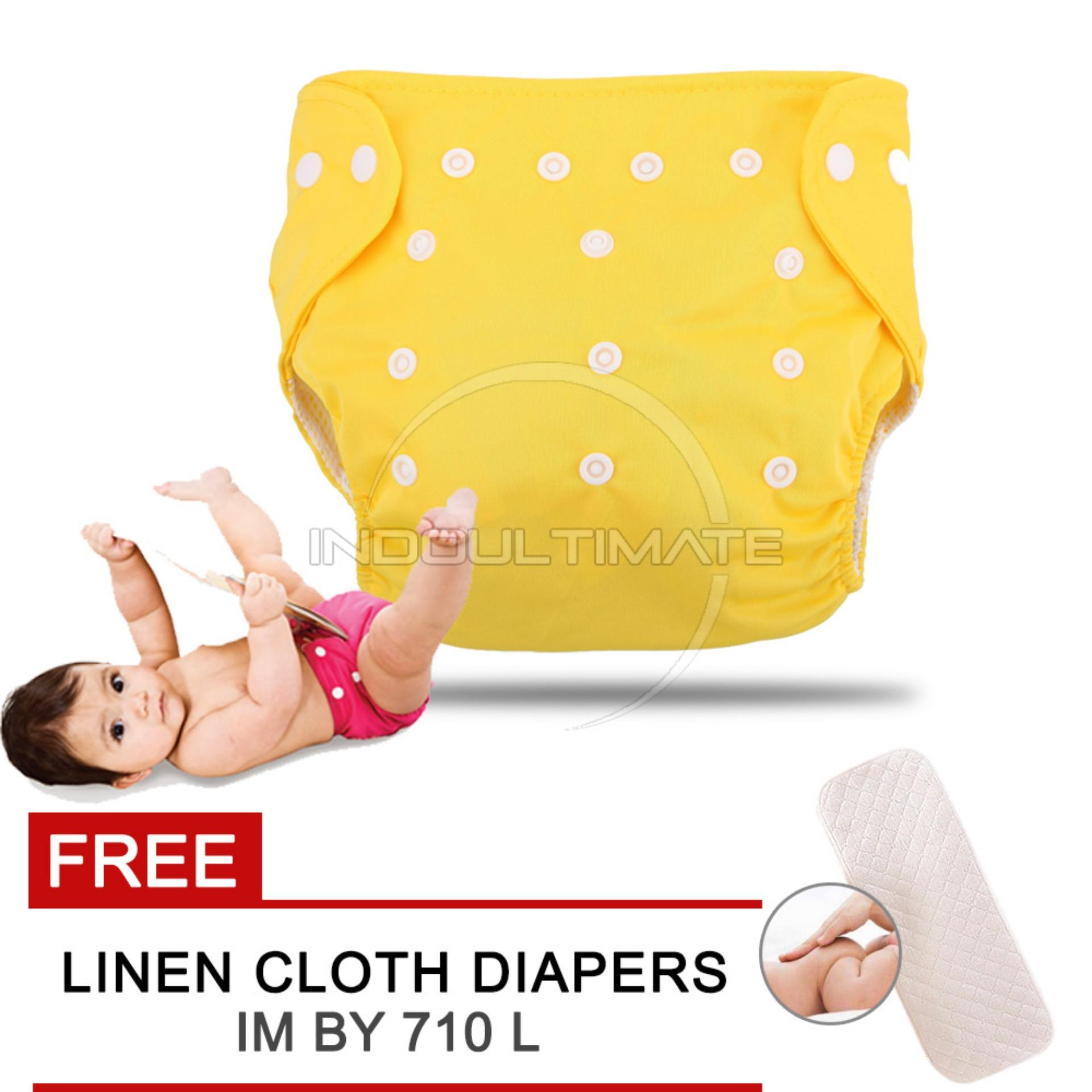 Cloth diaper Cloth diapers Clodi Popok Kain Bayi BY 72 Pampers Kain YELLOW