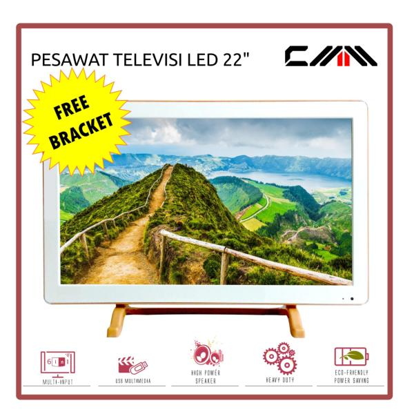 CMM - Televisi - TV MONITOR LED 22 inch Wide - USB Movie Ready - Free Bracket