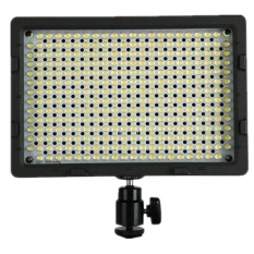 CN-304 on Camera LED Light Video LED Light for DSLR DV (Black)