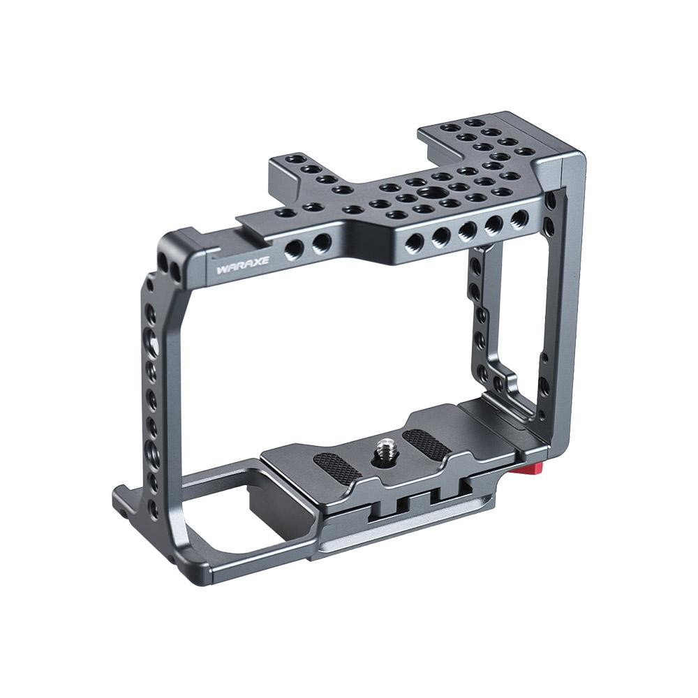 CNC Video Camera Cage Stabilizer Film Movie Making System for Sony A7II A7SII A7RII to Mount Microphone Monitor Tripod Lighting Accessories - intl