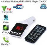 Coconie Bluetooth Wireless Fm Transmitter Mp3 Player Handsfree Mobil Kit Usb Tf Sd Remote Intl Original