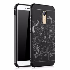 Tips Beli Cocose Case Dragon Original Shockproof For Xiaomi Redmi Note 4X Hitam Yang Bagus