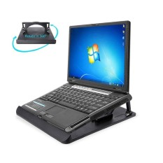 Cocotina Stand Laptop Pemegang Tablet Yang Bisa Diatur untuk Meja Komputer Pendingin Portabel Riser