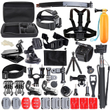 Review Pada Cognos C Max 8 Action Camera Large Include 50 Pcs Accessories Big Cam Bag For Action Camera
