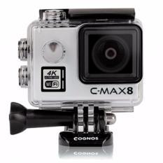 Jual Cognos Omega 4K C Max 8 Action Camera 16 Mp Mika Box Silver Cognos Grosir