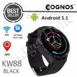 Diskon Besarcognos Smartatch Kw88 3G Wifi Android 5 1 Hitam