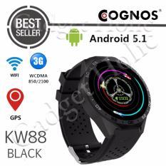 Beli Cognos Smartatch Kw88 3G Wifi Android 5 1 Hitam Cicilan