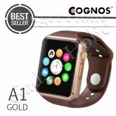 Cognos Smartwatch A1 - GSM TERMASUK BOX - Gold