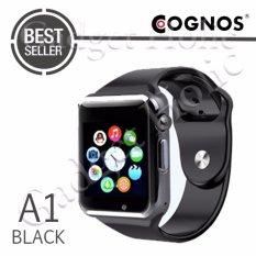 Cognos Smartwatch A1 - GSM TERMASUK BOX - Hitam