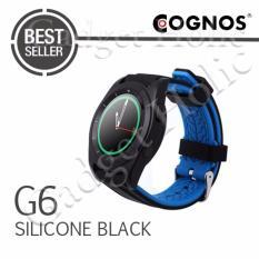 Jual Cognos Smartwatch G6 Heart Rate Silicone Hitam Di Dki Jakarta