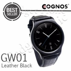 Cognos Smartwatch GW01 - GSM - Heart Rate - Leather Black