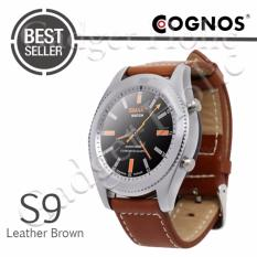 Cognos Smartwatch S9 - Heart Rate - Leather Brown