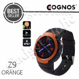 Promo Cognos Smartwatch Z9 Android 5 1 Gsm Sim Card Heart Rate Orange Murah