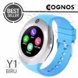 Cognos Y1 Smartwatch Gsm Sim Card Biru Original