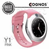 Toko Cognos Y1 Smartwatch Gsm Sim Card Pink Lengkap