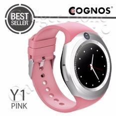 Cognos Y1 Smartwatch GSM Sim Card - Pink
