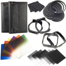 Spesifikasi Cokin P Filter Set 12 Warna Nd Kit Adapter Lens Hood Lf142 Sz Hitam Merk Xcs®