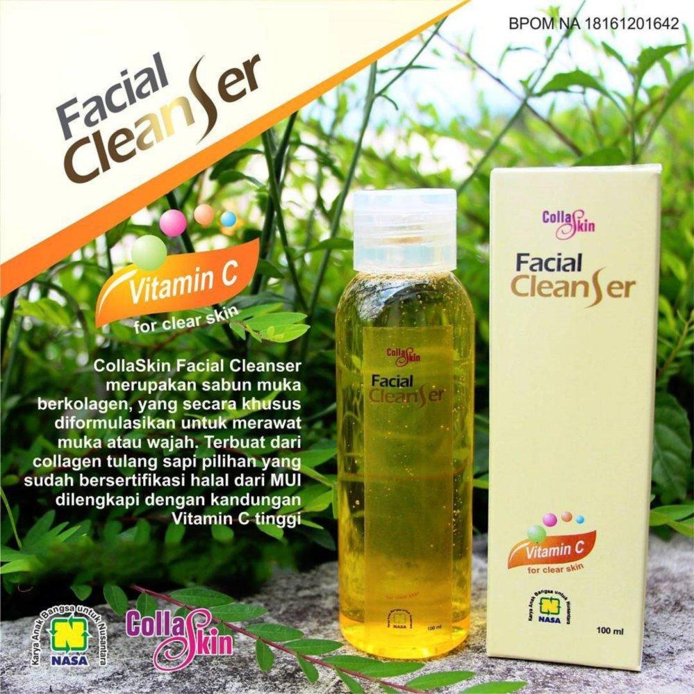 Harga Collaskin F*c**l Cleanser With Collagen Pembersih Penghilang Jerawat 100Ml Paling Murah