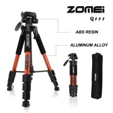 Colof Zomei Q111 56 Inches Ringan Profesional Kamera Video Aluminium Tripod With Tas Original
