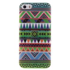 Colorful Gaya Nasional Gel Karet TPU Gel Silicone Soft Case Cover Pelindung Kulit untuk IPhone 5/5 S /SE-Intl