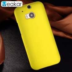 Colorful Ultra Slim Shockproof Hard Plastik Cell Phone Back Cover Case untuk HTC One M8/M8s-Intl