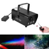 Miliki Segera Colorful Wireless 400 Watt Fogger Fog Smoke Machine With Color Lights Red Blue Green Remote Control For Party Live Concert Dj Bar Ktv Stage Effect Outdoorfree Intl