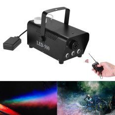 Cara Beli Colorful Wireless 400 Watt Fogger Fog Smoke Machine With Color Lights Red Blue Green Remote Control For Party Live Concert Dj Bar Ktv Stage Effect Outdoorfree Intl