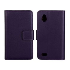 Colorfull Leather Case For HTC Desire V T328W (Purple) - intl.