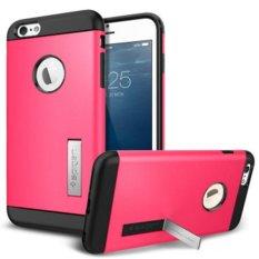 Combo Korea SGP Armor Perlindungan Kit Mobile Phone Case Cover untuk IPhone 6 S Plus (Warna: Hitam) -Intl