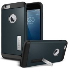 Combo Korea SGP Armor Perlindungan Kit Mobile Phone Case Cover untuk IPhone 6 S Plus (Warna: Silver) -Intl