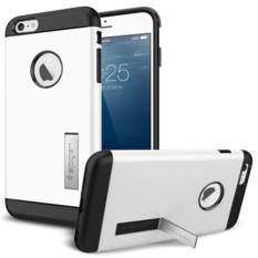 Combo Korea SGP Armor Perlindungan Kit Mobile Phone Case Cover untuk IPhone 6 S Plus (Warna: Putih)