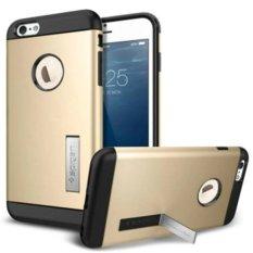 Combo Korea SGP Armor Perlindungan Kit Mobile Phone Case Cover untuk IPhone 6 S Plus (Warna Emas)-International