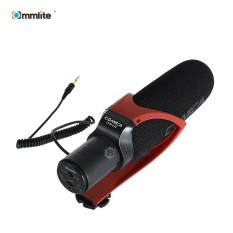 Commlite CVM V30 Photography Interview Shotgun Recording Mic Microphone for DSLR Camera - intl