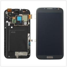 Lengkap LCD Touch Layar Digitalisasi + Frame untuk Samsung GALAXY Catatan 2 N7105 I317 311825600816-Intl