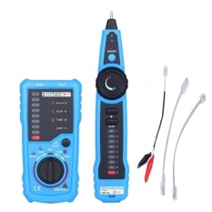 Computers Laptops Cable Tester Bside Fwt11 Rj11 Rj45 Telephone WireTracker Tracer Toner Ethernet Lan Network Cable Tester DetectorLine Finder Continuity Check Blue - intl