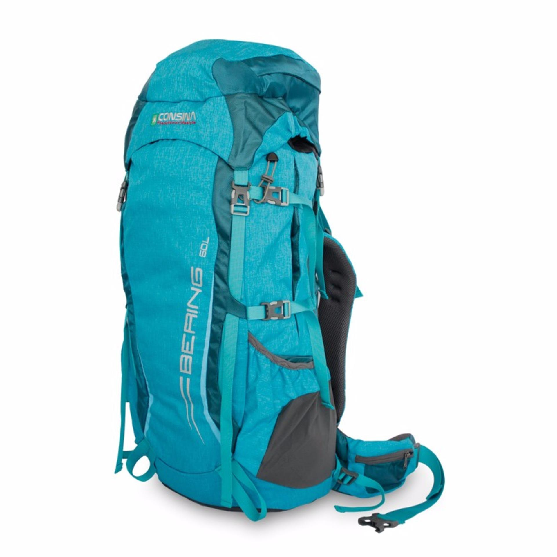 Review Toko Consina Backpack Bering 60L Biru Online